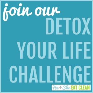 text reads join our detox your life challenge