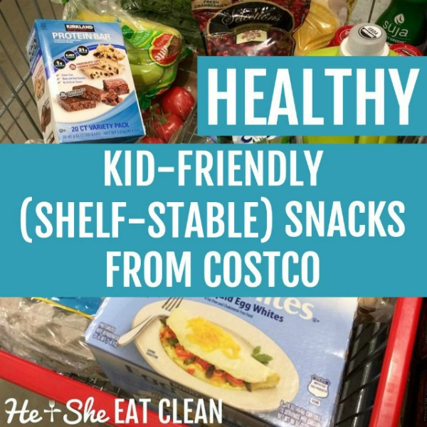 Healthy Kid-Friendly Shelf Stable Snacks from Costco