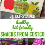 Healthy Kid-Friendly Shelf Stable Snacks from Costco Collage