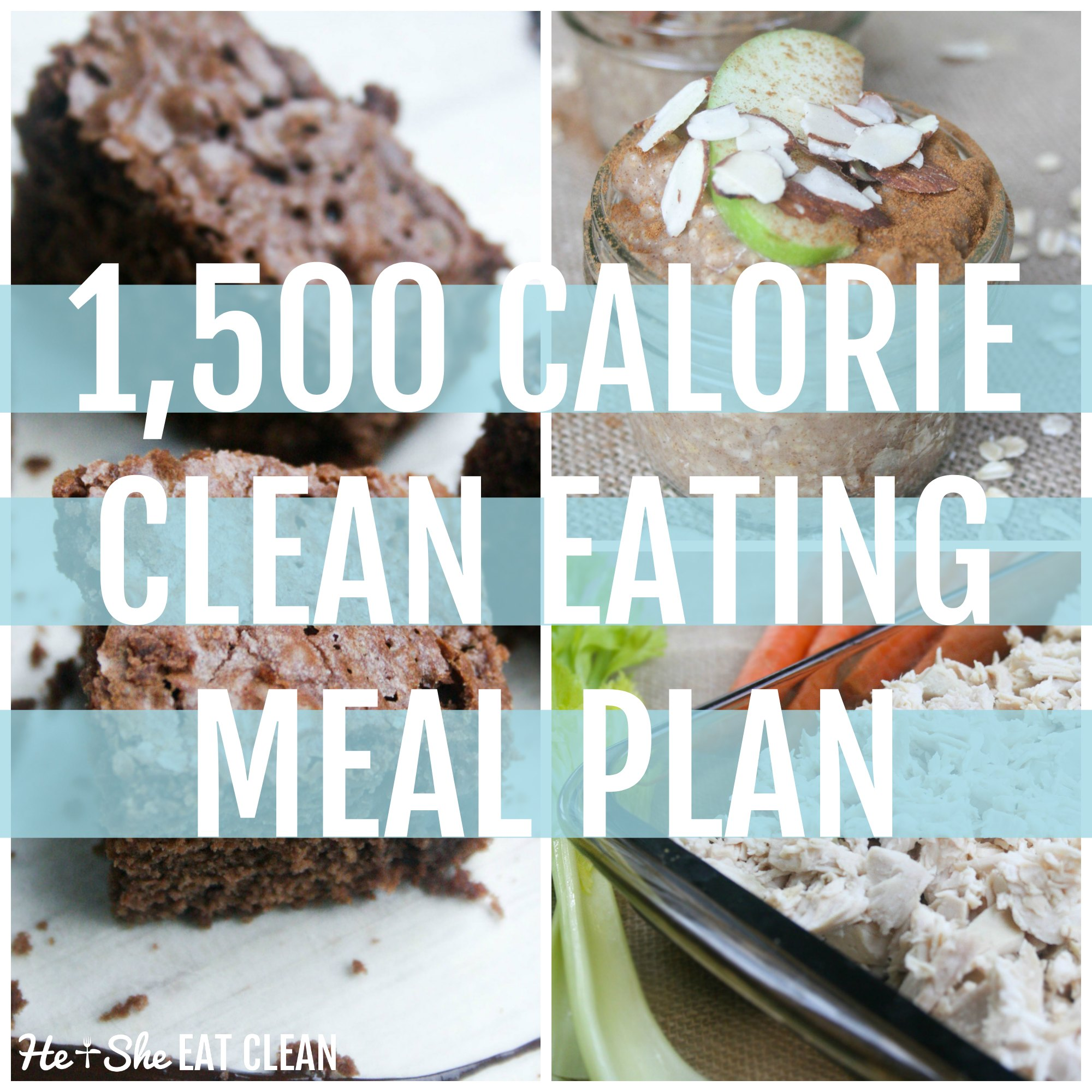 1,500 Calorie Clean Eating MealPlan