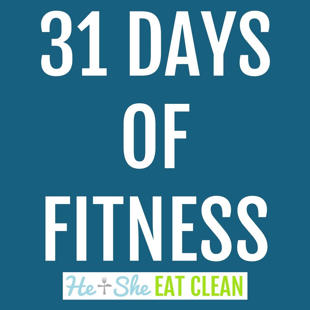 31 Days of Fitness Challenge