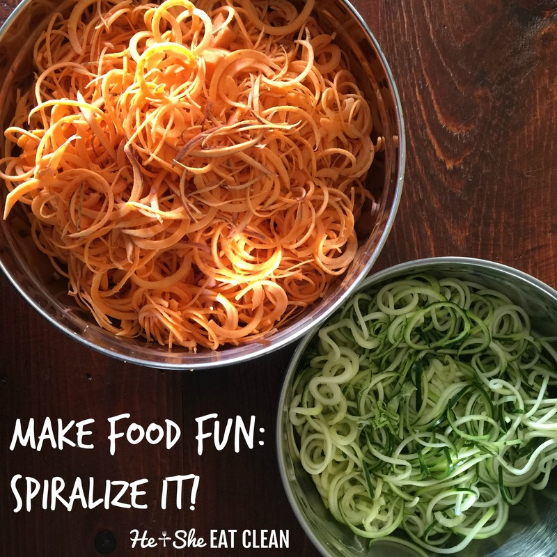 Make Food Fun! Spiralize It Using These Recipes!