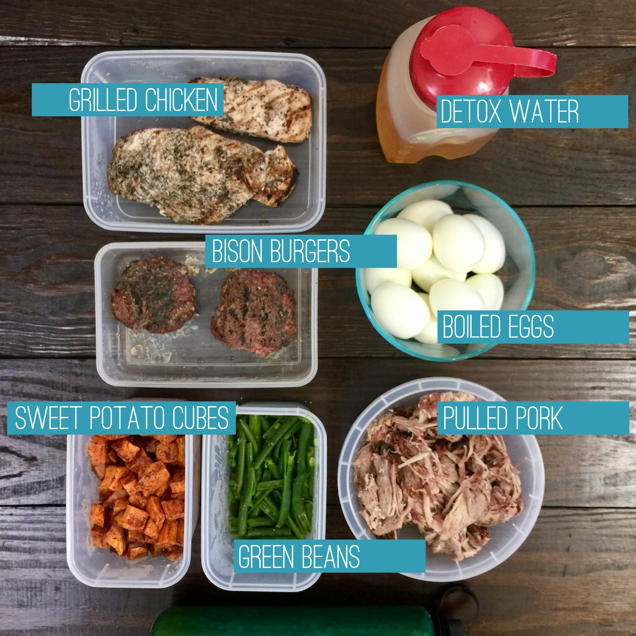 Clean Eating Food Prep for the Week