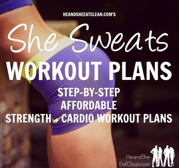 She Sweats Workout Plans – Sample Workout