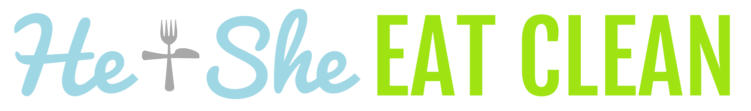 He & She Eat Clean logo
