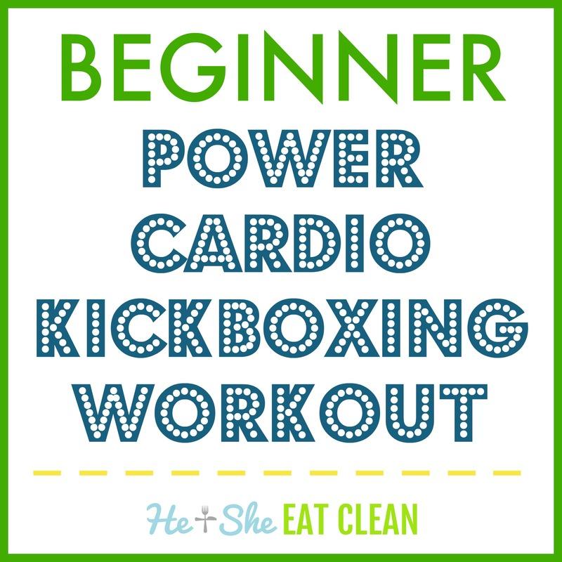Beginner Power Cardio Kickboxing Workout