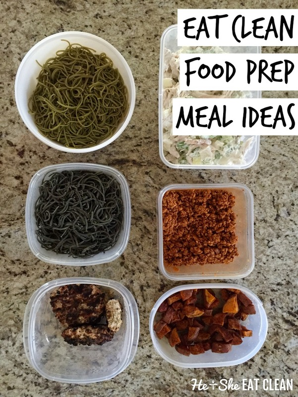 Eat Clean Meal Ideas with Pasta!
