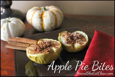 Apple Pie Bites | He and She Eat Clean