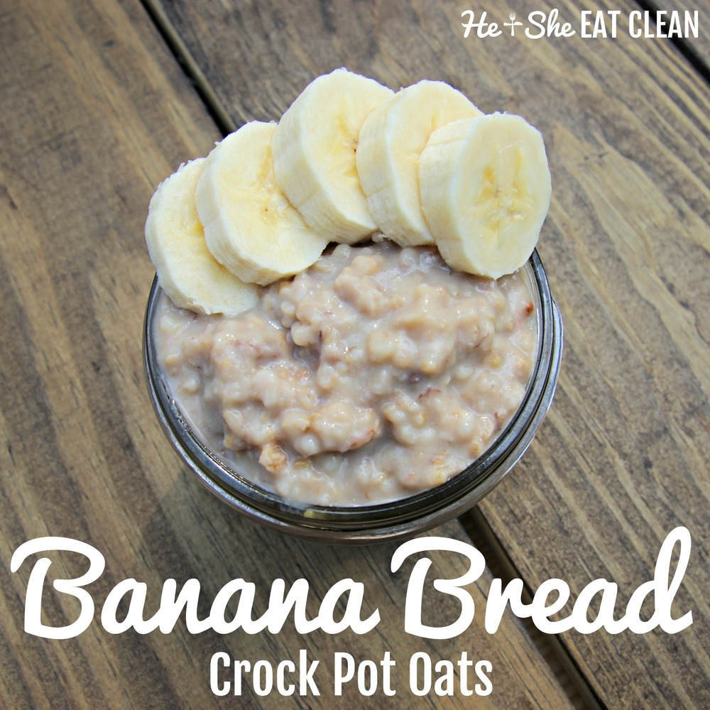 Banana Bread Crock Pot Oats