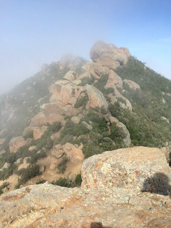 Hiking Bishop Peak   He and She Eat Clean