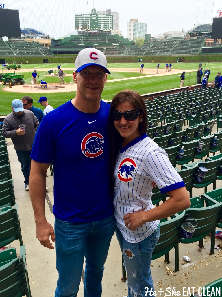 Chicago Cubs at Wrigley Field | He and She Eat Clean