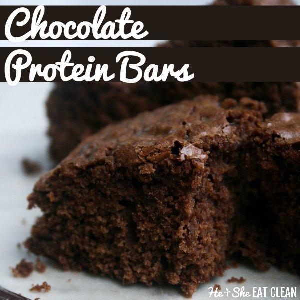 Jamie Eason's Chocolate Protein Bars