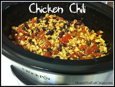 Clean Eat Recipe :: Chicken Chili | He and She Eat Clean