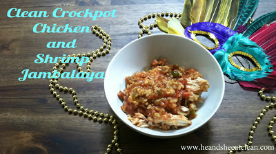 Crockpot Chicken & Shrimp Jambalaya