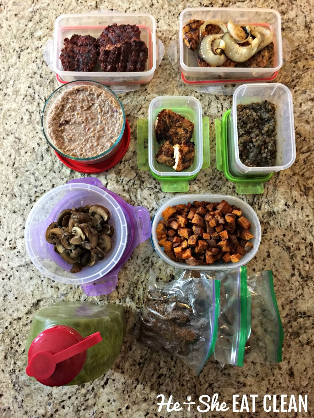 Clean Eating Food Prep   He and She Eat Clean