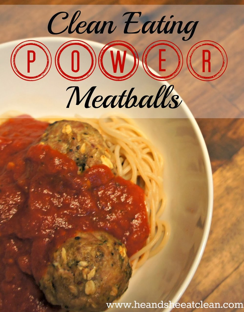 Clean Eating Power Meatballs