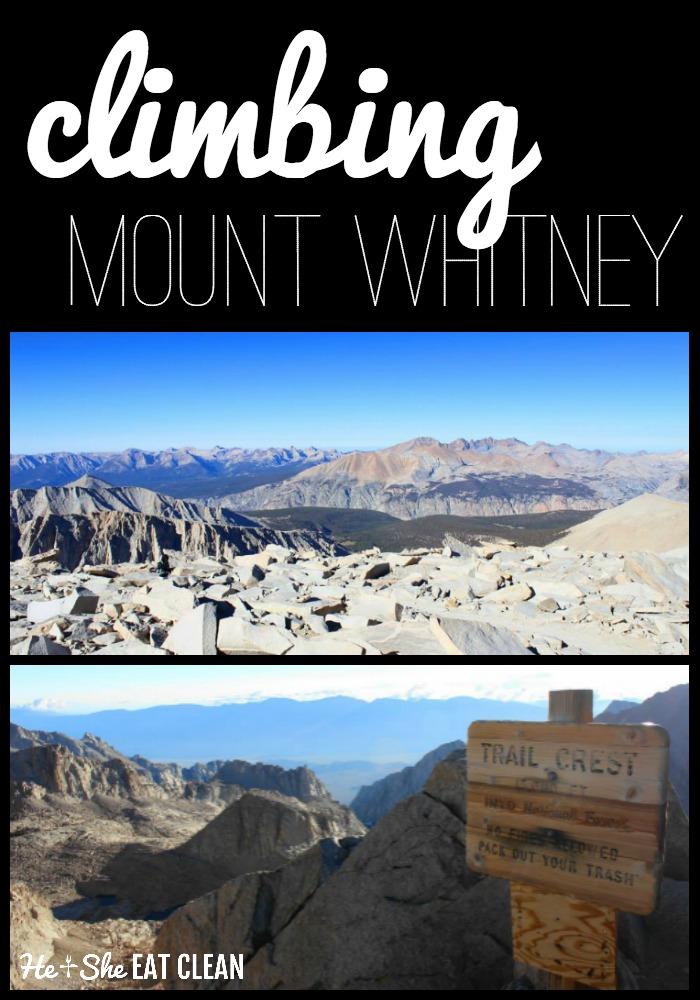 Climbing Mount Whitney