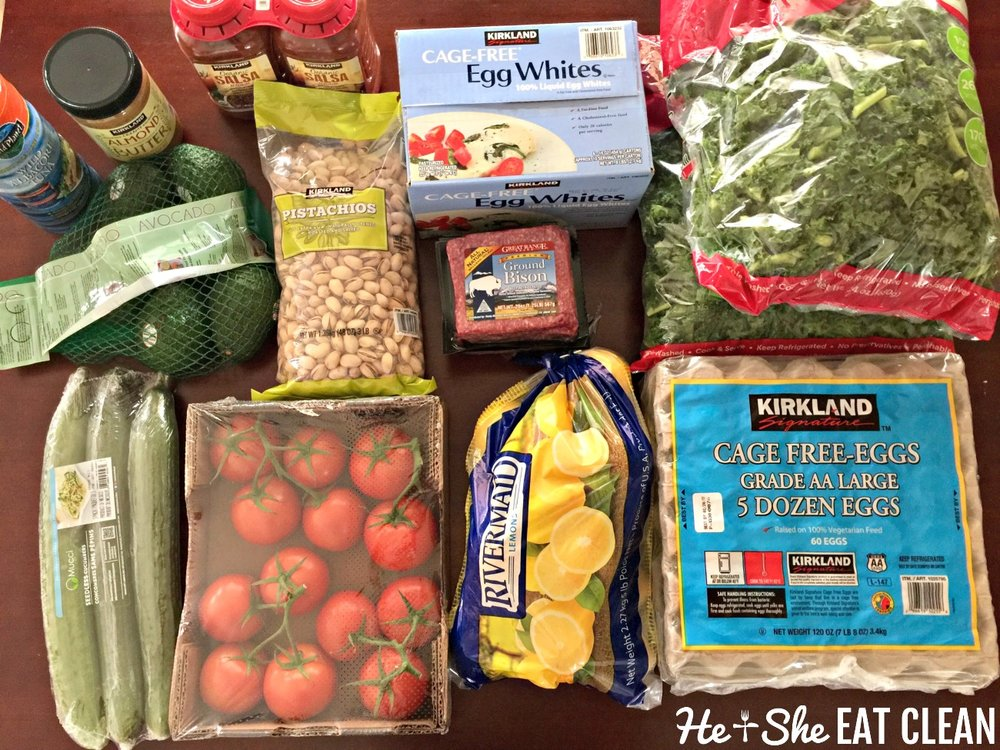 Costco Clean Eating Shopping | He and She Eat Clean