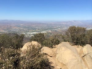 Hiking Cowles Mountain | He and She Eat Clean