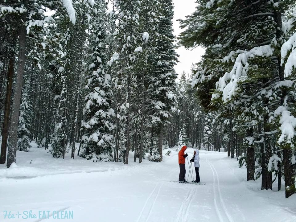 Cross Country Skiing in West Yellowstone, MT | He and She Eat Clean