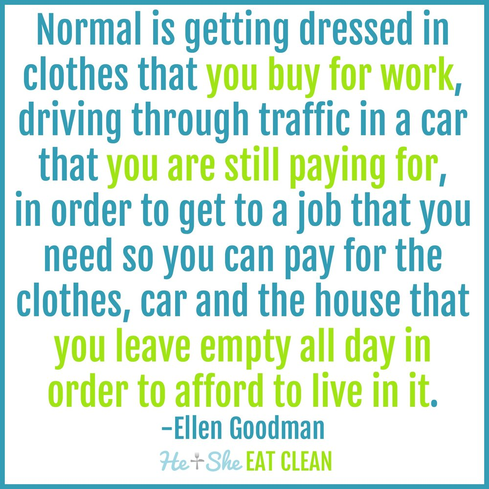 Rat Race Quote by Ellen Goodman