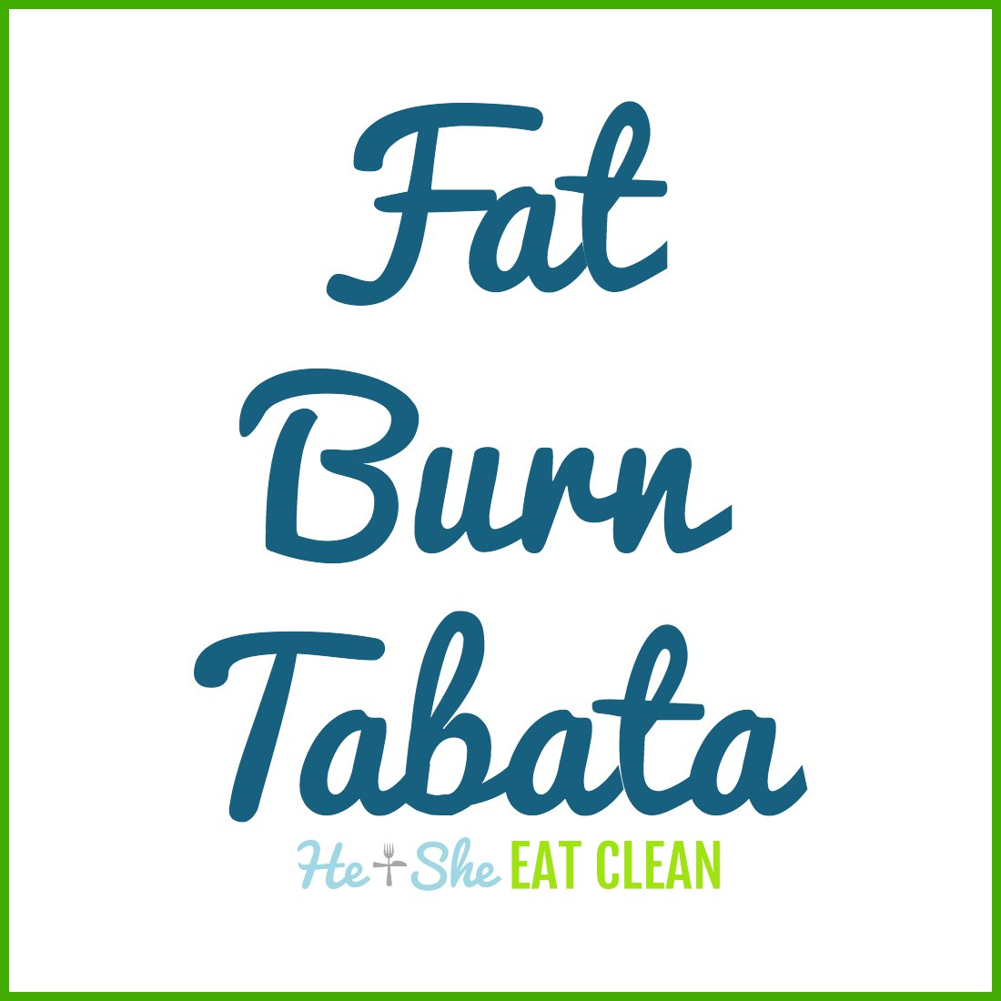 Fat Burn Tabata Workout + Iron-Tek Review
