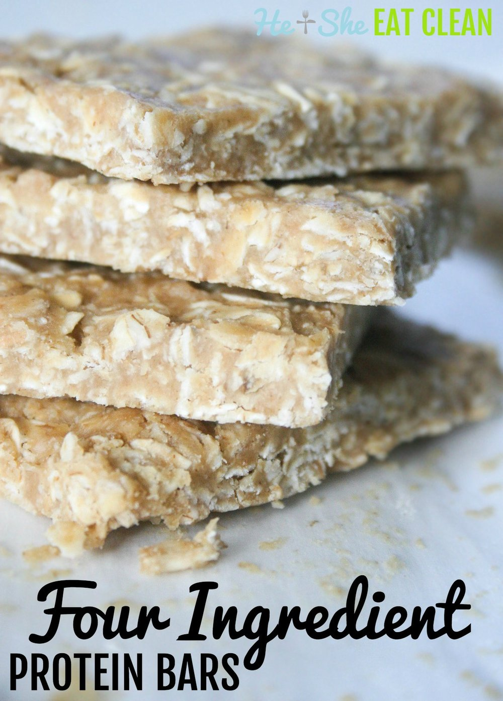 Clean Eat Recipe: Four Ingredient Protein Bars