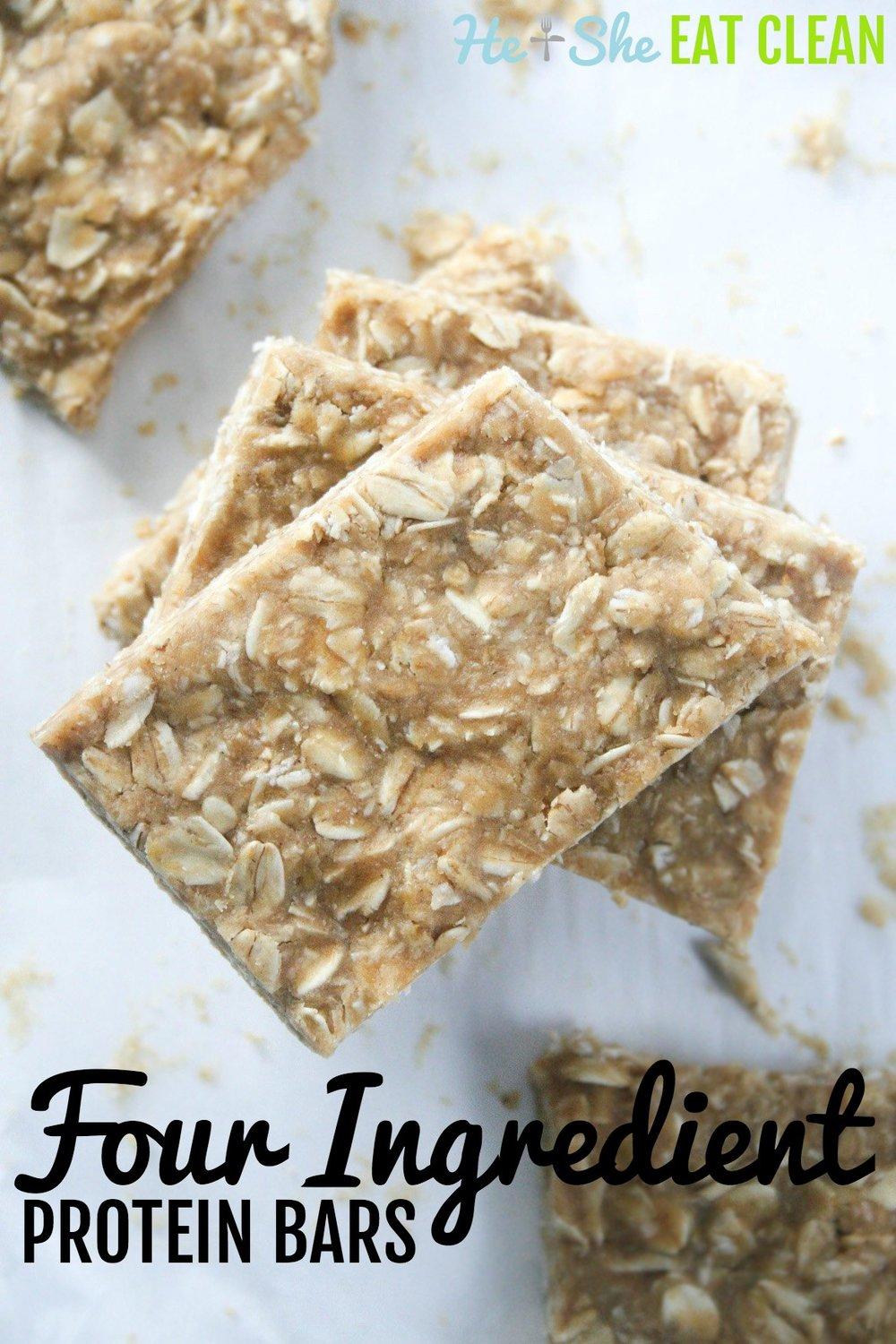 Clean Eating Recipe: Four Ingredient Protein Bars