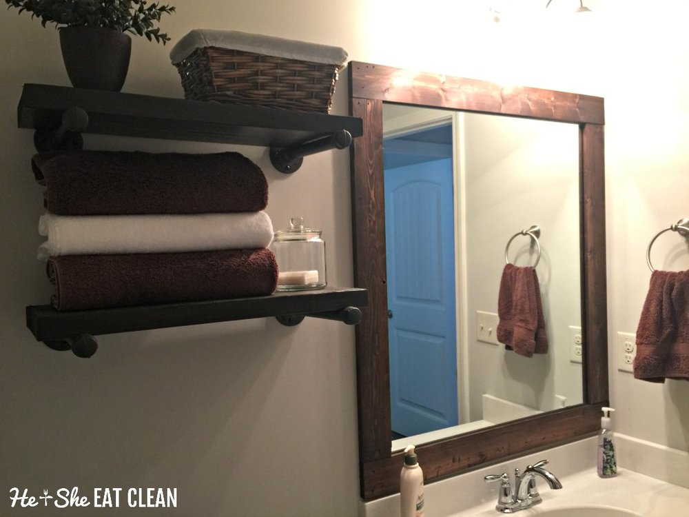DIY Framed Mirror
