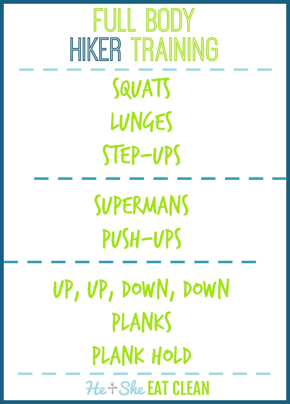 Full Body Hiker Workout | He and She Eat Clean