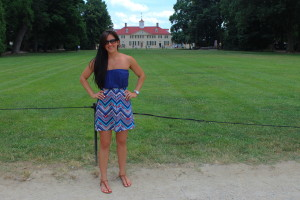George Washington's Mansion   He and She Eat Clean