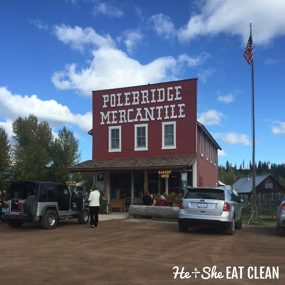 The Polebridge Mercantile and Bakery in Montana
