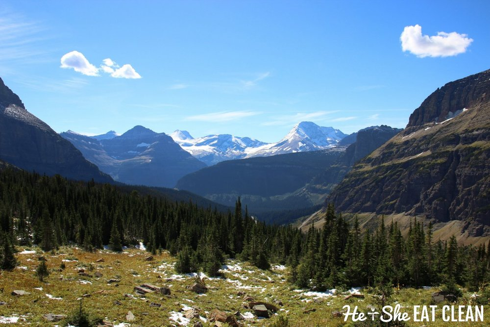 Hiking to Siyeh Pass & Piegan Pass in Glacier National Park, Montana