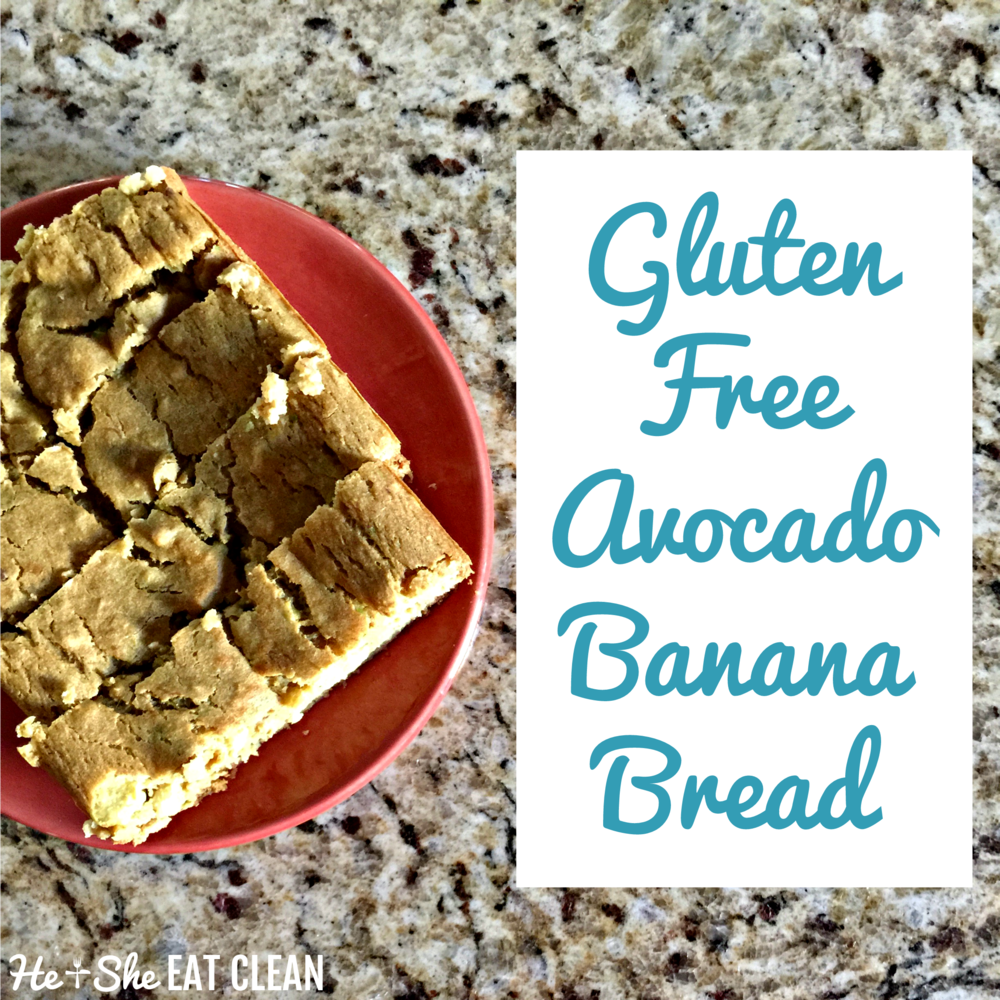 Gluten Free Avocado Banana Bread