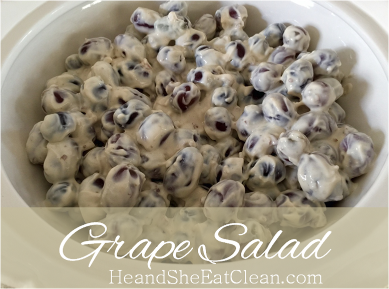 Clean Eat Recipe: Grape Salad | He and She Eat Clean