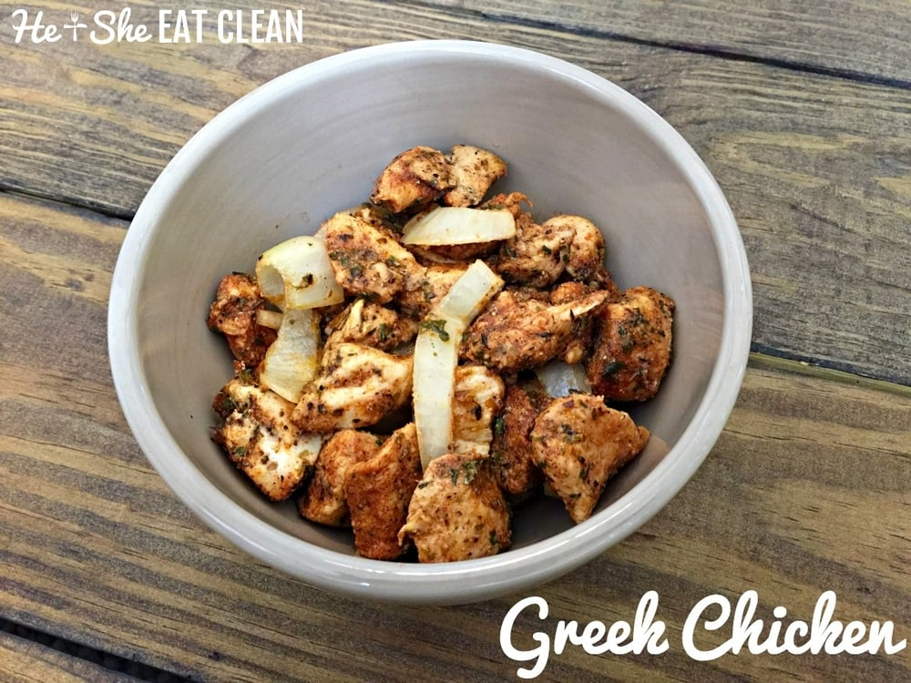 Clean Eat Recipe: Greek Chicken