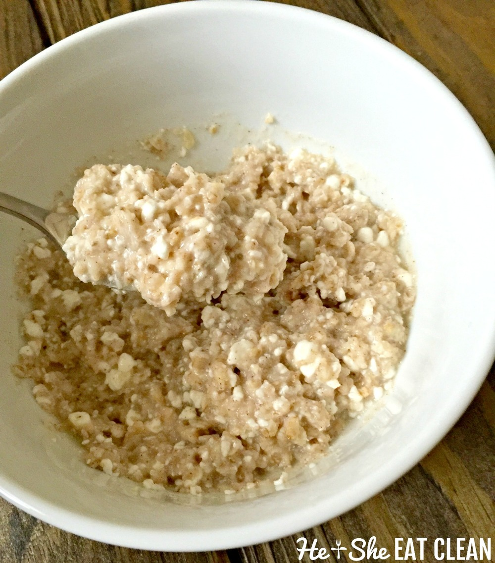 Clean Eat Recipe: Hearty Oats | He and She Eat Clean