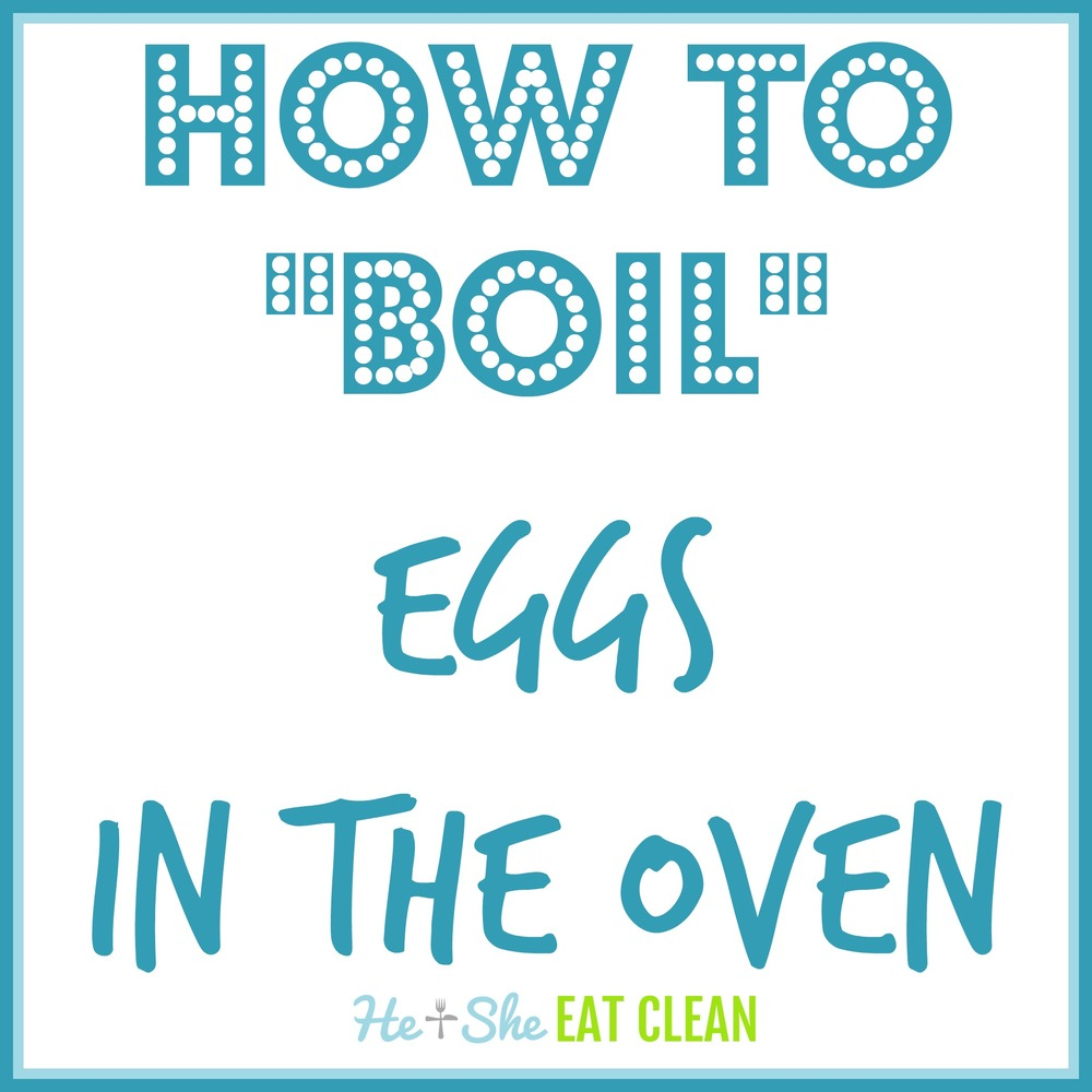 Hard Boiled Eggs in the OVEN!