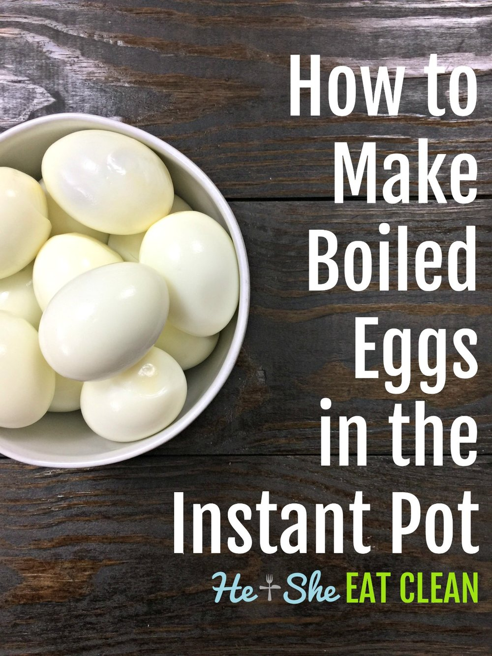 how to cook eggs in instant pot