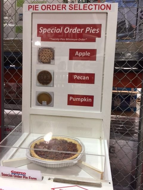 How to Order a Pie from Costco