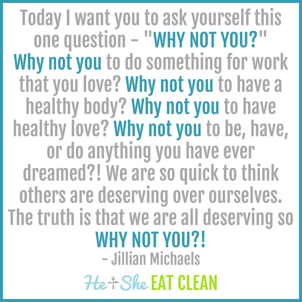 Jillian Michaels Motivational Quote
