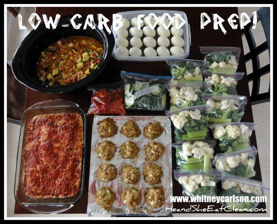 Low Carb Food Prep