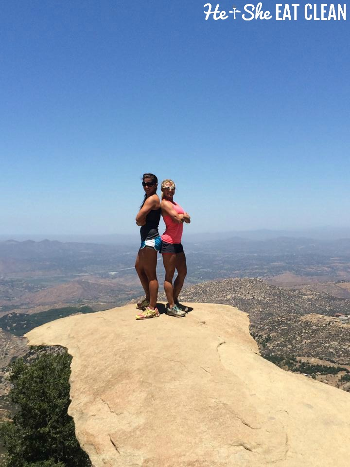 Hiking Mount Woodson (Potato Chip Hike) | He and She Eat Clean