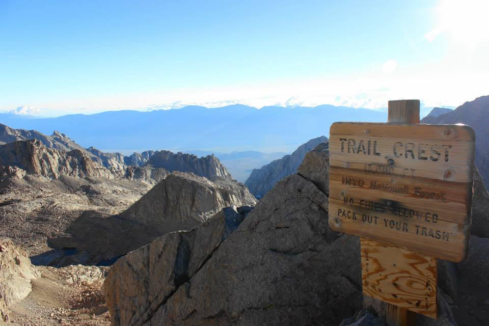 Climbing Mount Whitney   He and She Eat Clean
