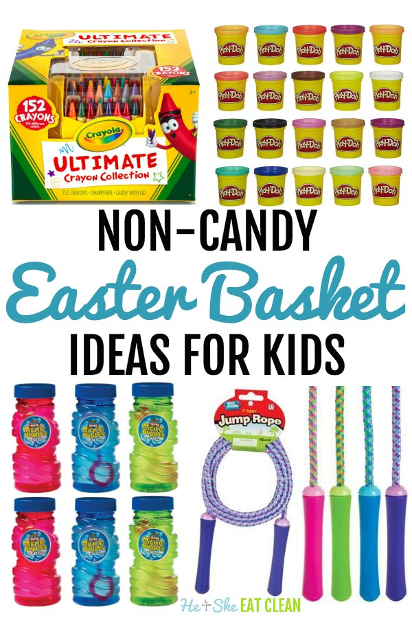 Non-Candy Easter Basket Ideas for Kids