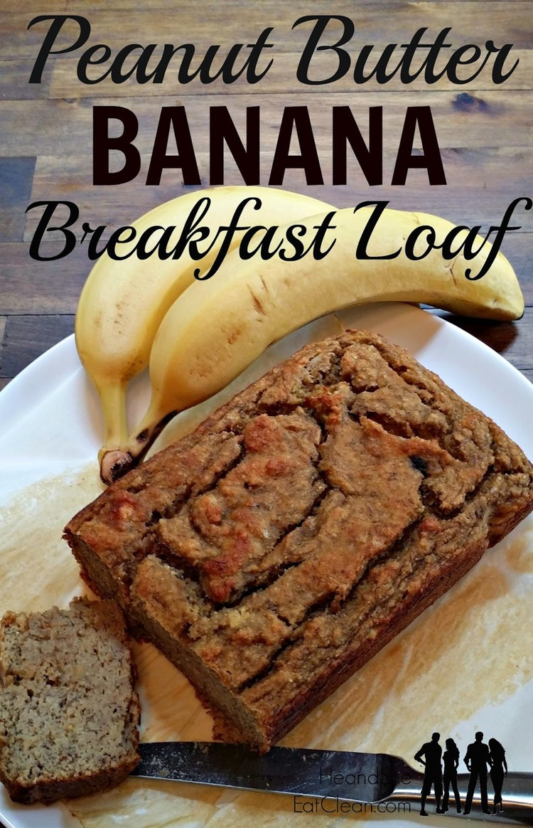Peanut Butter Banana Breakfast Loaf