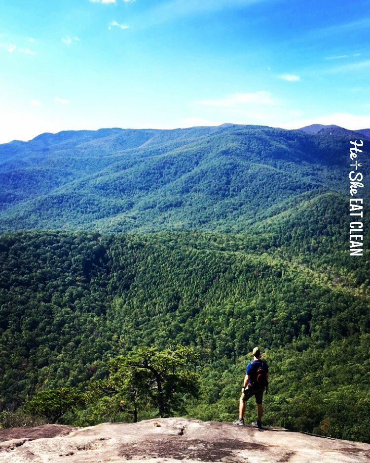 Looking Glass Rock Hike in Pisgah National Forest