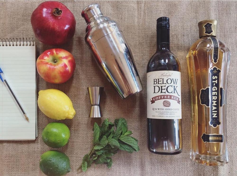 Pomegranate Mojito | Hettman Homestead | He and She Eat Clean