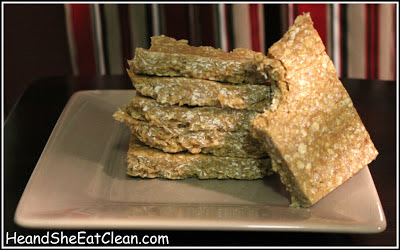Four Ingredient Protein Bars | He and She Eat Clean