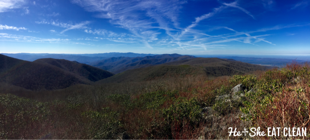 Hiking Rocky Top in Great Smoky Mountains National Park | He and She Eat Clean